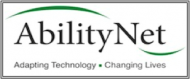 logo for AbilityNet  charity