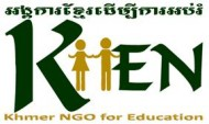 logo for KHEN Khmer NGO For Education charity
