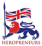 logo for Heropreneurs charity