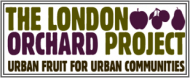 logo for The London Orchard Project  charity